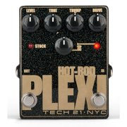 Tech 21 Hot-Rod Plexi Analog Distortion Guitar Effects Pedal