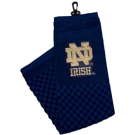 Team Golf NCAA Notre Dame Embroidered Golf Towel