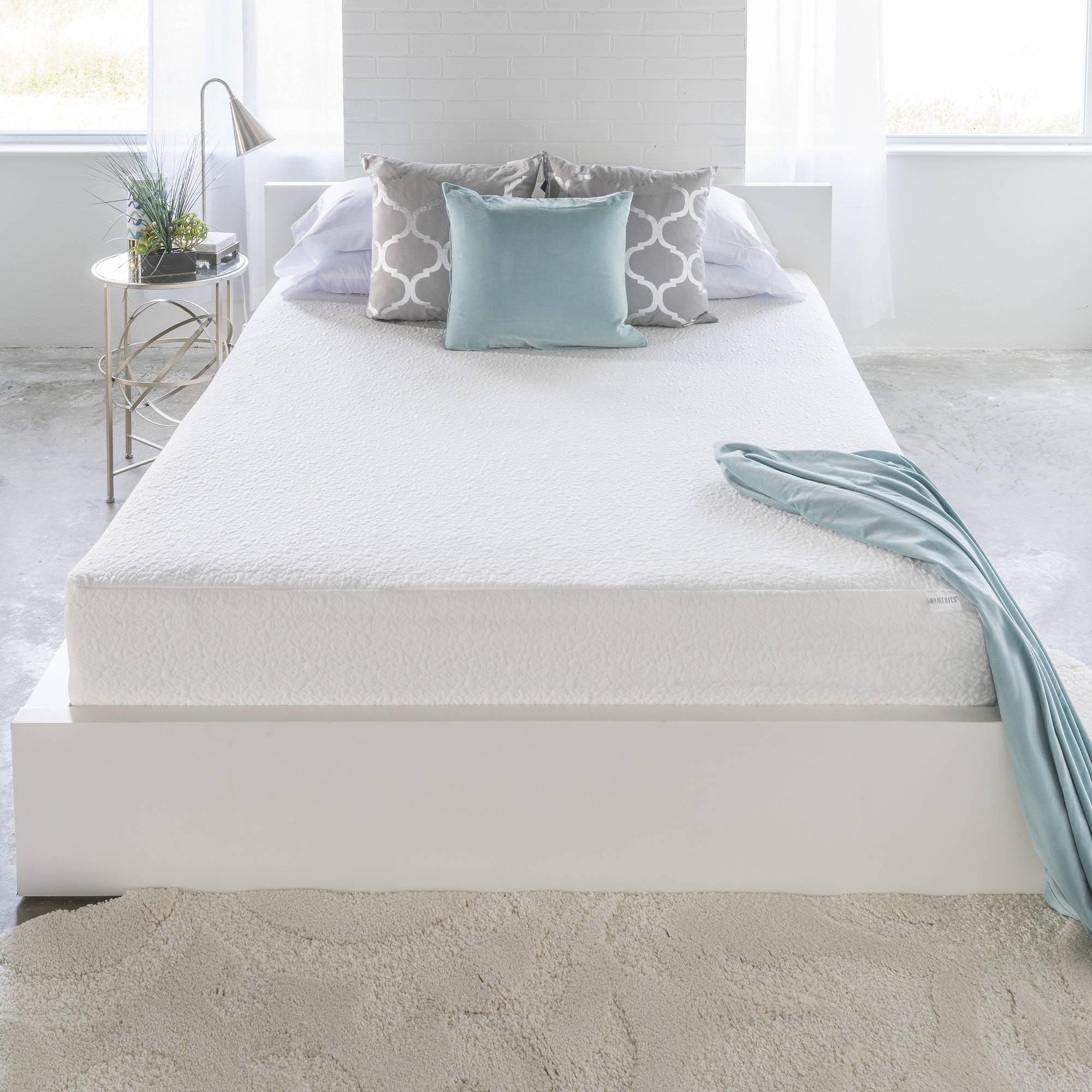 Linenspa 11 Inch Luxury Gel Memory Foam Mattress Split