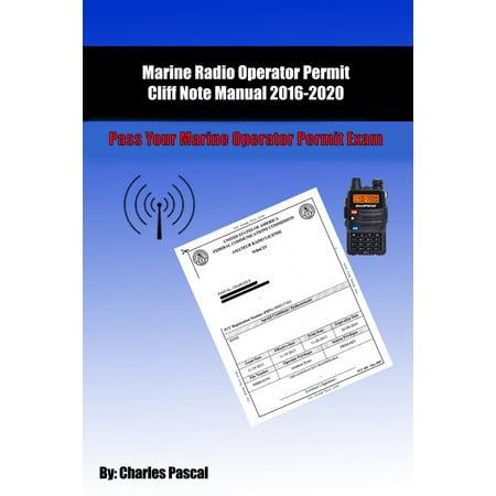 Marine Radio Operator Permit Manual: Pass Your Marine Operator Permit Exam - eBook