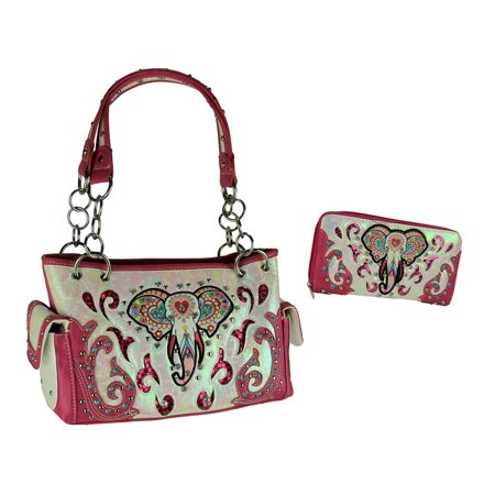 Colorful Tribal Elephant Concealed Carry Purse and Wallet - Hobo Bags And Wallets