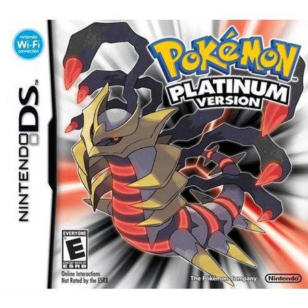 Pokï ½ï ½ï ½mon - Platinum - Nintendo DS