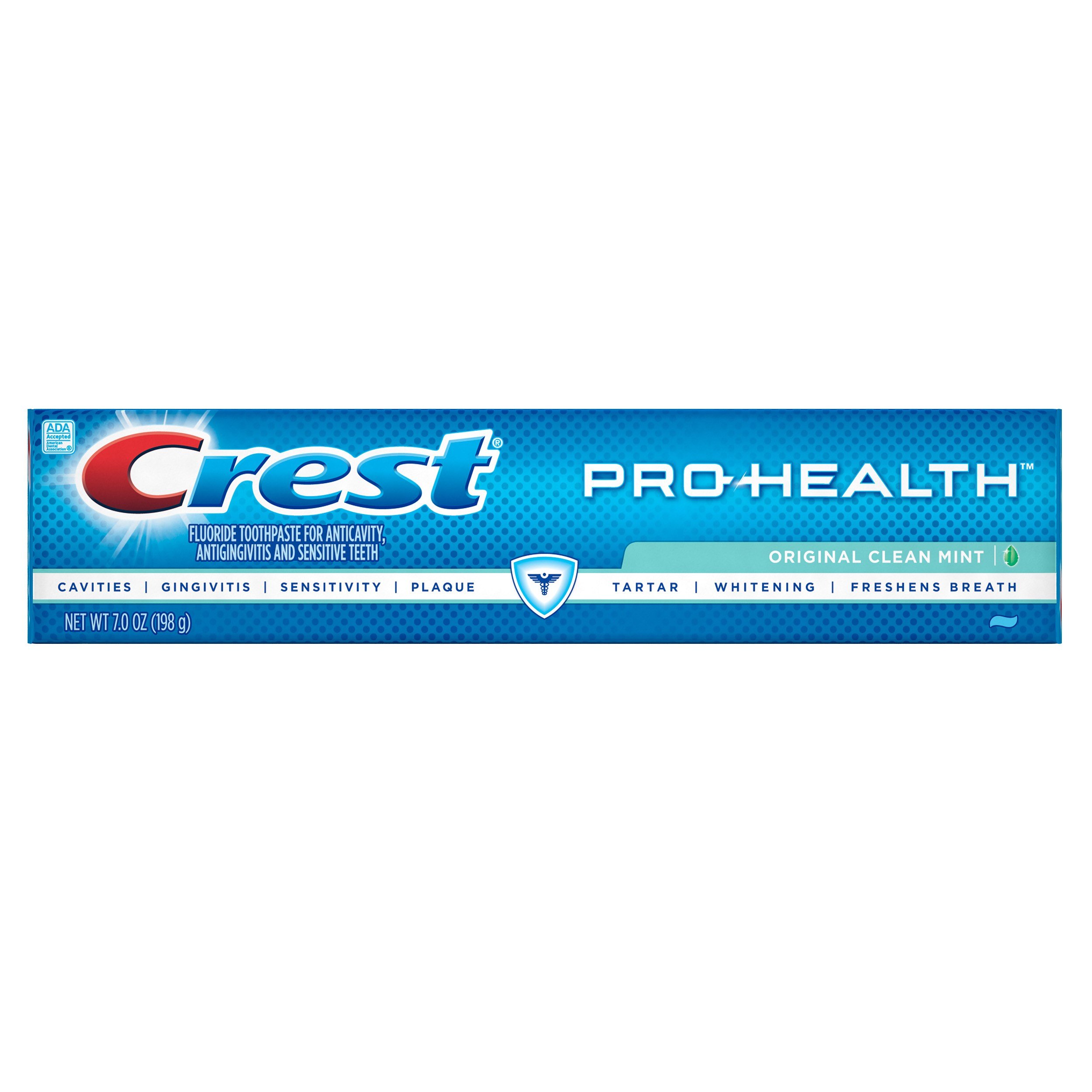 Crest Pro-Health Original Clean Mint Flavor Toothpaste 7.0 oz.