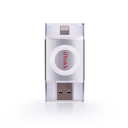 Apple Mfi Certified  Mignova  Idiskk Usb Flash Drive For Iphone  Ipad And Ipod  Usb3 0 And Lightning Connector  64Gb Silver