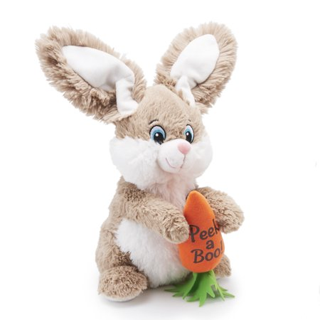 Happy Bunny Bunny (Way to Celebrate Animated Plush, Peek-A-Boo Bunny )