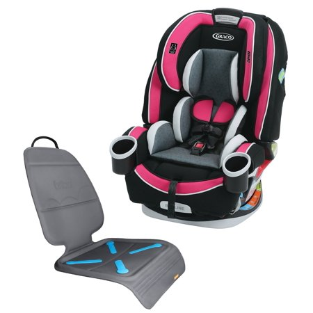 Graco 4Ever All-In-One Convertible Car Seat with Seat Protector ...