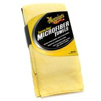 Meguiar's Supreme Shine Microfiber Towels, X2020, Pack of 3