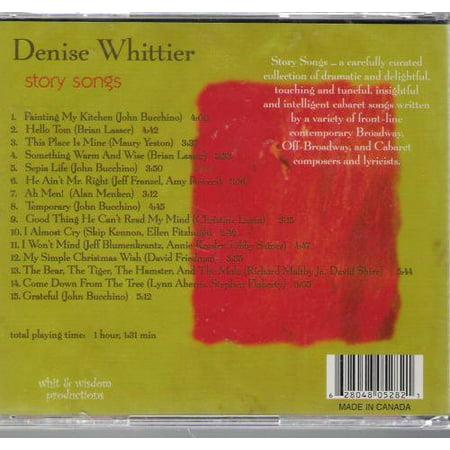 Denise Whittier   Story Songs  Cd
