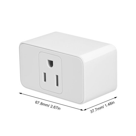 Meross Alexa Wi-Fi Smart Plug Socket Switch Wireless Wi-Fi