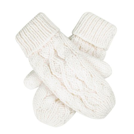 HDE Womens Winter Gloves Crochet Twist Cable Knit Hand