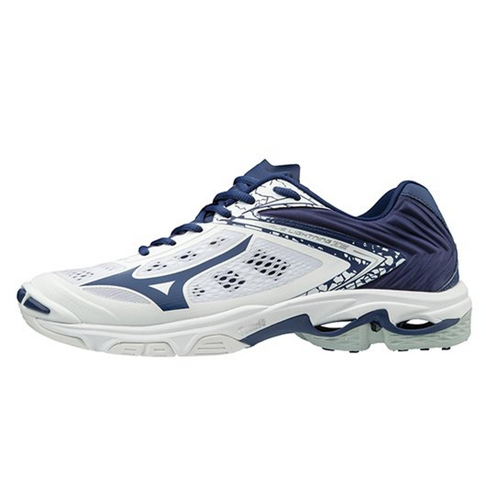 mizuno women's wave lightning z5 indoor court shoe disc tennis