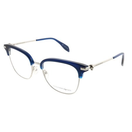 Alexander McQueen Iconic AM 0152O 004 Unisex  Square (Iconic Glasses Frames)