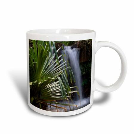 3dRose Waterfall, Princeville, Hanalei, Kauai, Hawaii - US12 DPB0253 - Douglas Peebles, Ceramic Mug, 15-ounce