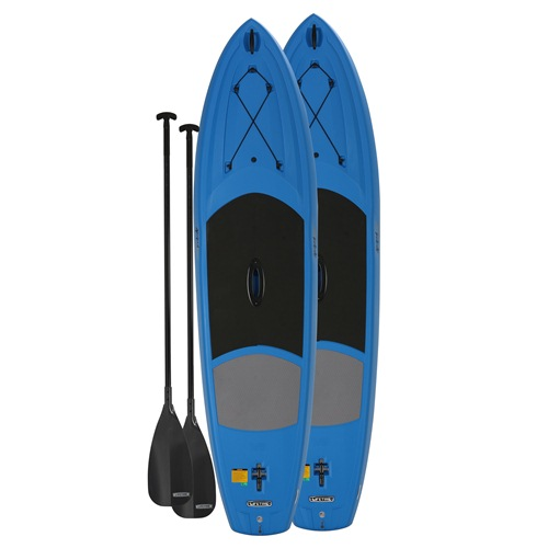 Lifetime Stand Up Paddle Board, Amped 11' - Blue, Set of 2