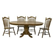 Chelsea Home Sourwood Pedestal Dining Table