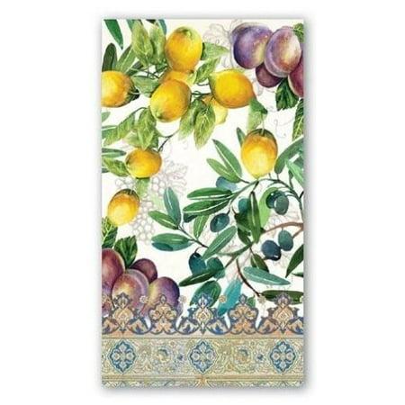 Michel Design Works Paper Hostess Napkins - Tuscan Grove