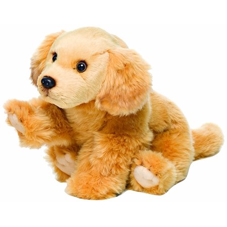 Golden Retriever Plush Toy, Large, Material(s): 20% Polyester and 80% Acrylic By Nat and