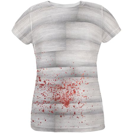 Halloween Bloody Mummy All Over Womens T - Mummy Wraps Halloween Food