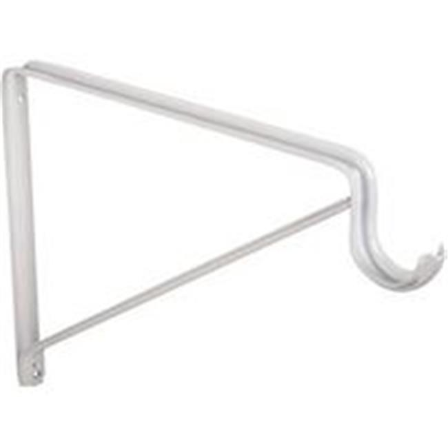 Prosource 1817527 Shelf & Rod Support Stand - White - image 1 of 1