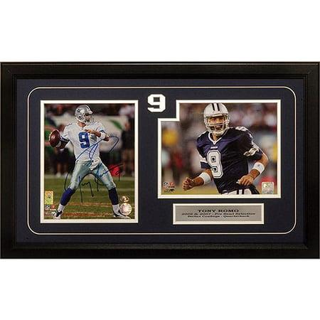 Nfl 12x18 Autograph Frame Tony Romo Dallas Cowboys