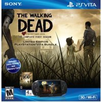 Refurbished PlayStation PS Vita 1000 3G Wifi The Walking Dead Bundle