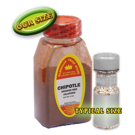 Marshalls Creek Spices CHIPOTLE PEPPER, SMOKED GROUND RED JALAPENO 6