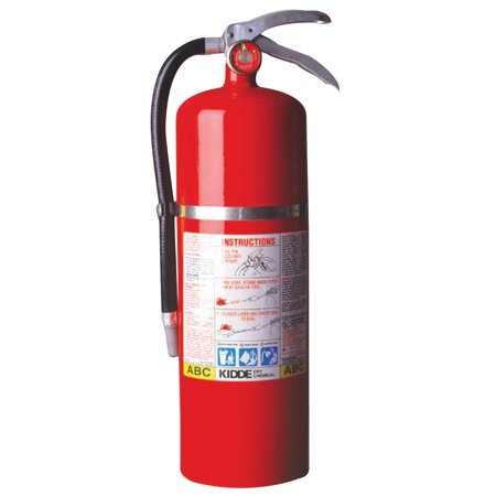 Kidde ProPlus Multi-Purpose Dry Chemical Fire Extinguisher - ABC Type, 10 lb Cap.