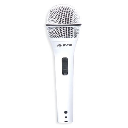 Peavey PVI 2W XLR Dynamic Undirectional Cardioid Microphone - White 593440 New
