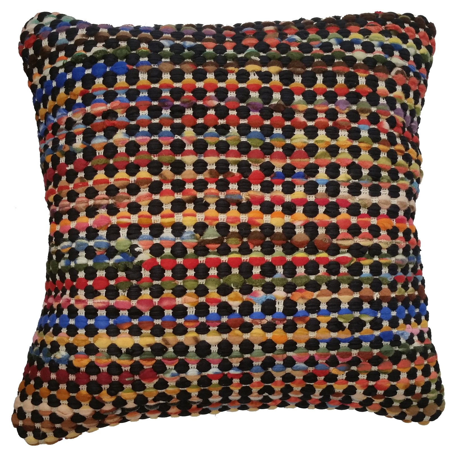 LR Resources Rana Cotton/Wool Throw Pillow