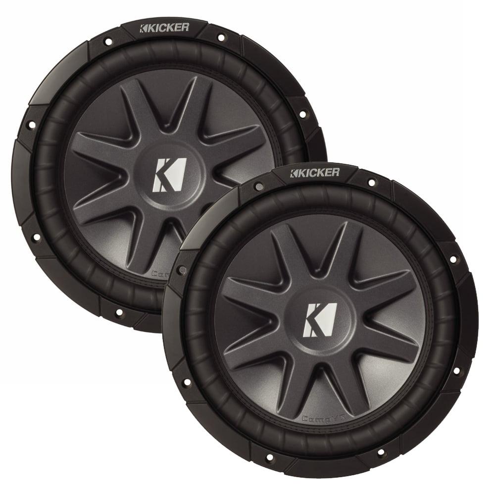 """Kicker 12"""" CVR package - Two Kicker 10CVR124 12 Inch Comp..."""