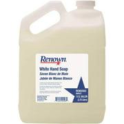 Renown Lotion Hand Soap, White, 1 Gallon Per Container