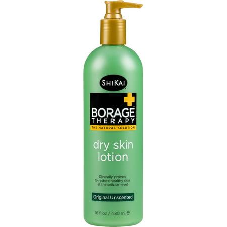 Shikai Borage Therapy Dry Skin Lotion, Unscented, 16 Oz