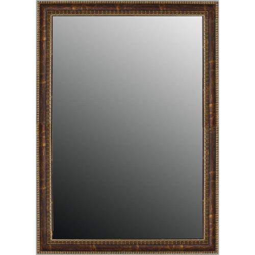 Second Look Mirror Beaded Copper Waves Mirror