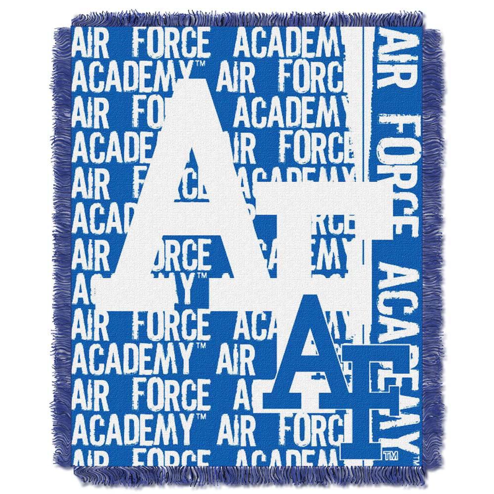Air Force Jacquard Woven Throw Blanket