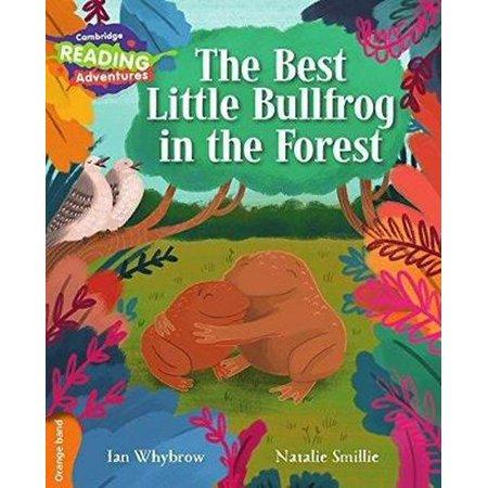 The Best Little Bullfrog in the Forest Orange (Best Material For Slingshot Bands)