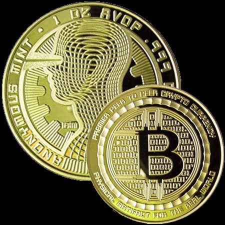 The Golden Guardian Limited Edition Collectible Souvenir Gold Plated Bitcoin Coin by (Limited Edition Collectible Plate)