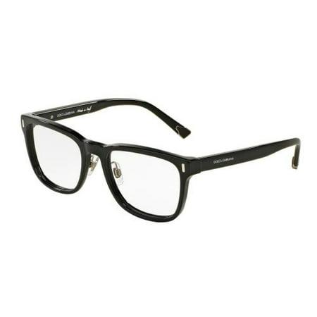 8aae8c8498 DOLCE   GABBANA Eyeglasses DG 3241 501 Black 54MM - Walmart.com