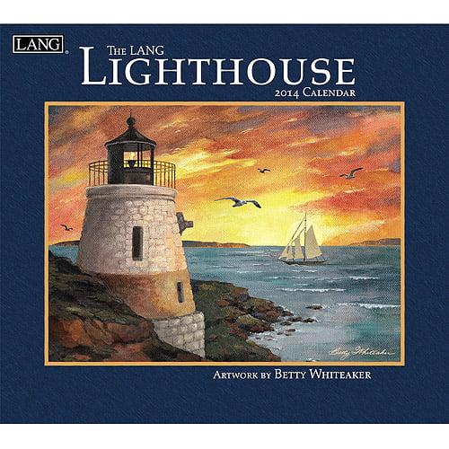 Lang Lighthouse 2014 Wall Calendar