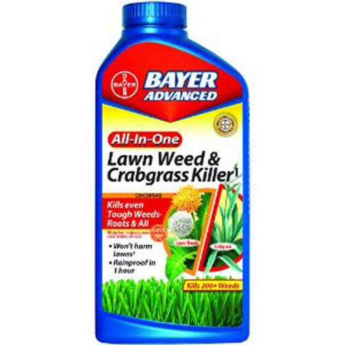 Bayer All-In-One Weed and Crabgrass Killer Concentrate