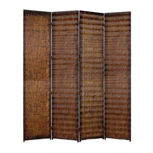 Screen Gems 87'' x 84'' Albata Screen 4 Panel room Divider
