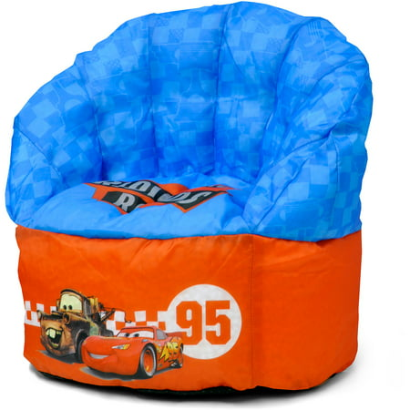 Disney Cars Toddler Bean Bag Chair Red