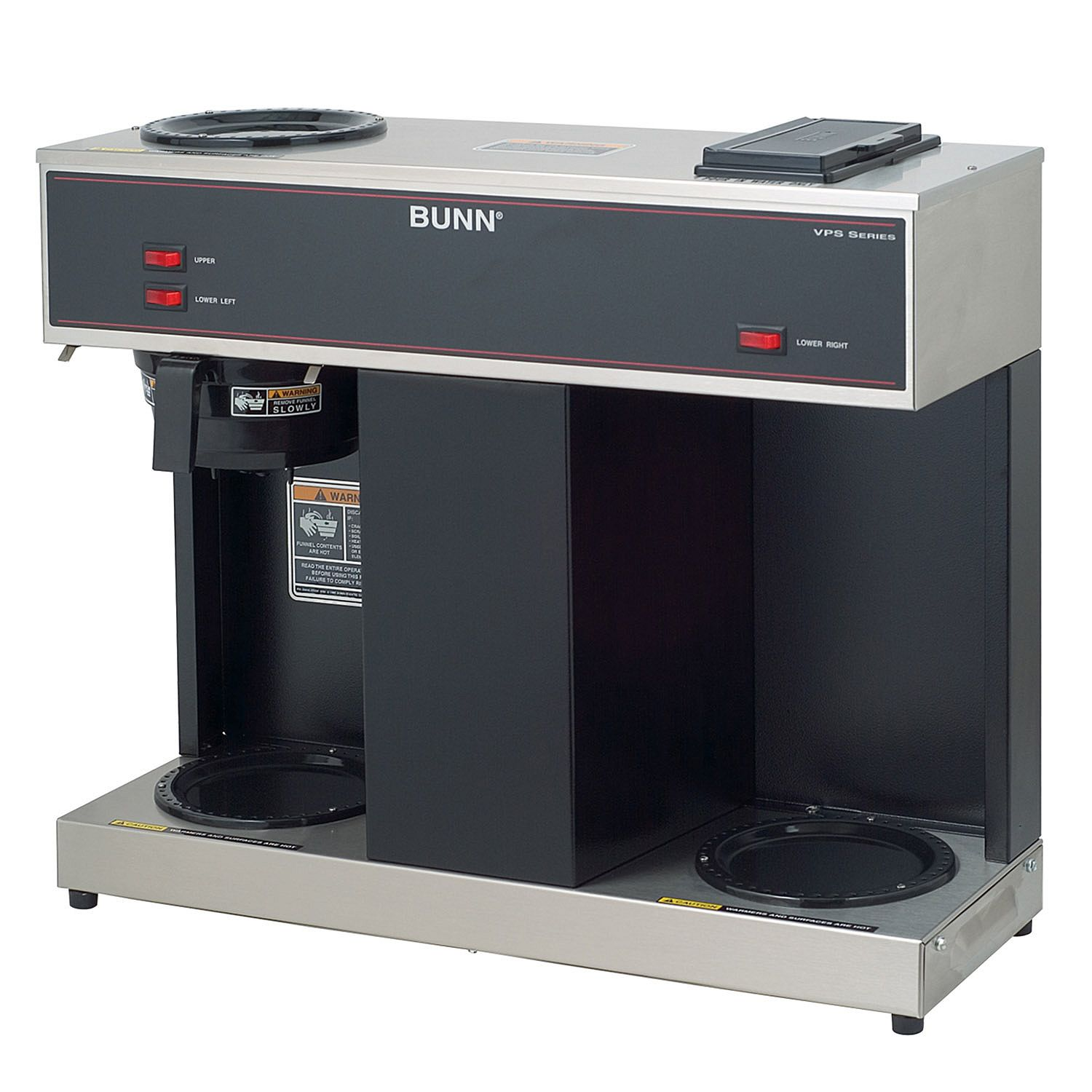 Bunn VPS Commercial Pourover Brewer with 3 Warmers