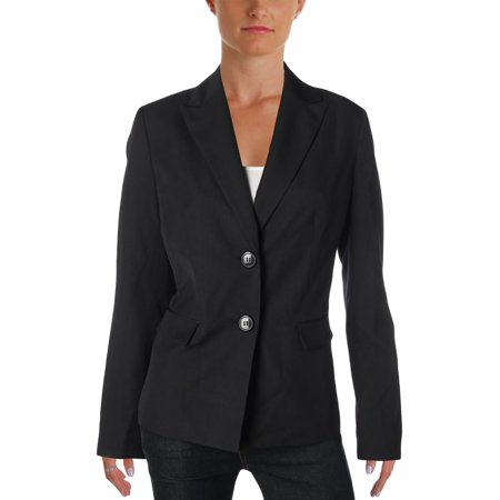 Le Suit Womens Tonal Pinstripe Two-Button Blazer (Pinstripe Suit Blazer)