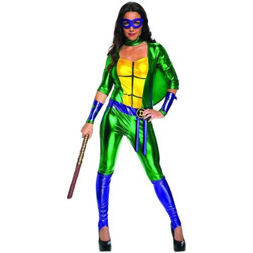 Classic Donatello TMNT Women's Jumpsuit Costume