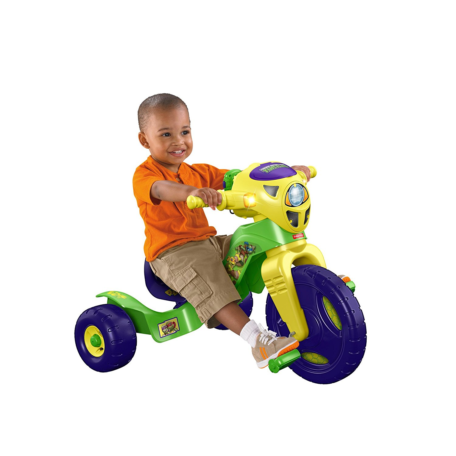 Nickelodeon Teenage Mutant Ninja Turtles Lights & Sounds Trike by Fisher-Price