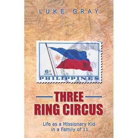 Three Ring Circus - eBook - Circus Ring Leader