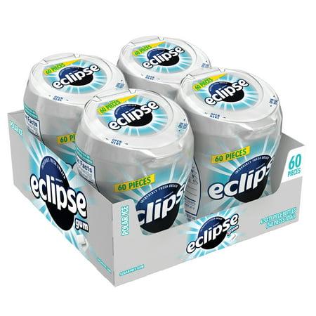 Eclipse, Polar Ice, Sugarfree Chewing Gum, 60 Pieces