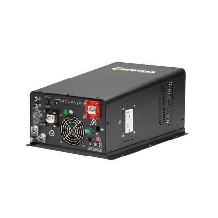Spartan Power SP-IC2224 2200 Watt 24V Pure Sine Wave Inverter Charger With Transfer Switch ()