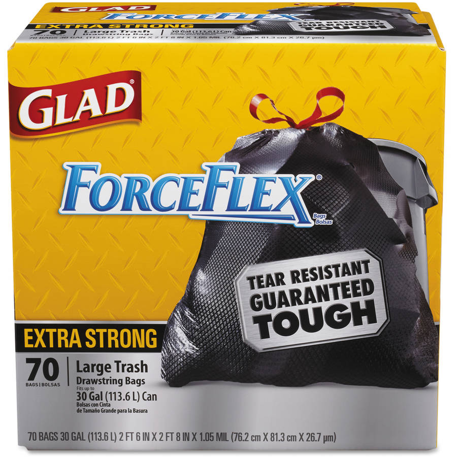 Clorox Glad ForceFlex Tall Trash Bags