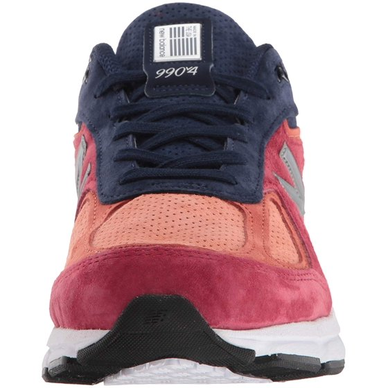 super popular 8c0bc c1d29 Mens New Balance 990 V4 Made In USA Red Navy Grey White Black M990CP4